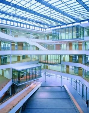 MLC Wolfsburg – Blick ins Atrium